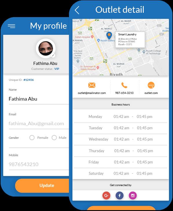 Outlet Details & Profile
