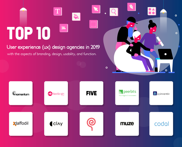 List of top UX design agencies in 2019