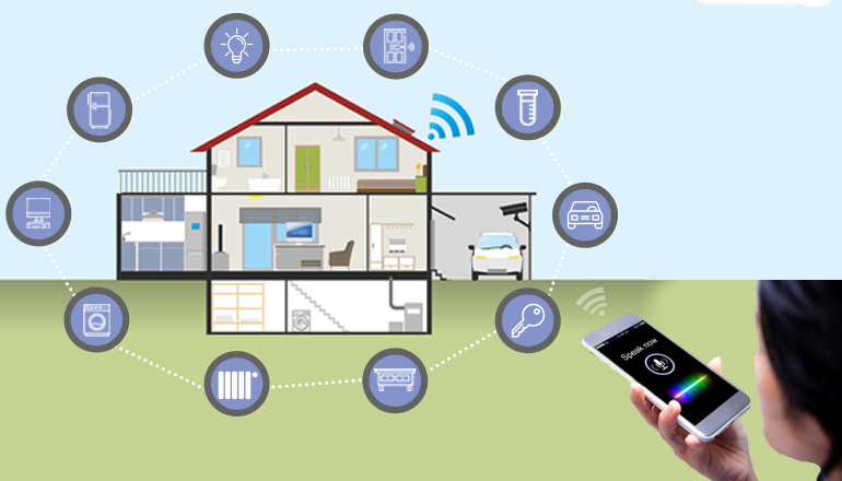 Turning on and off smart devices and appliances
